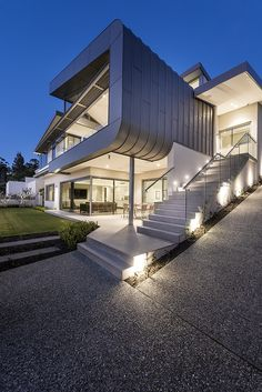 Home designed by Greg Davies Architects and built by Urbane Projects. Greg Davies, Luxury Homes, Architects, House Design, Mansions, House Styles, Building, Projects, Home Decor