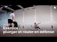 Exercice de défense : plonger et rouler | Volley-Ball - YouTube