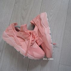 Image of Pink Dust Huaraches.