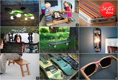 RECYCLED SKATEBOARD PRODUCTS | Image