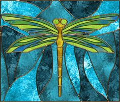 Printable Dragonfly Patterns | Dragonfly stained glass patterns - TheFind