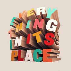 How to Create Colorful Wooden 3D Text (via a href=http://psd.tutsplus.com/tutorials/text-effects-tutorials/how-to-create-wooden-3d-text/psd.tutsplus.com/a)