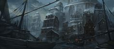 ArtStation - The center of tower lake, ji you zhong