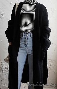 casual # outfits, casual # fashion, everyday # outfits, everyday # fashion, basic # Source by midi Best Casual Outfits, Basic Outfits, Korean Outfits, Cool Outfits, Fashion Outfits, K Fashion Casual, Sporty Outfits, Fashion Black, Cardigan Outfits