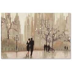 "Trademark Fine Art ""An Evening Out Neutral"" Canvas Wall Art ($27) ❤ liked on Polyvore featuring home, home decor, wall art, neutral home decor, trademark fine art, neutral wall art, horizontal wall art and canvas home decor"