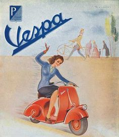 I totally want an old vintage Vespa