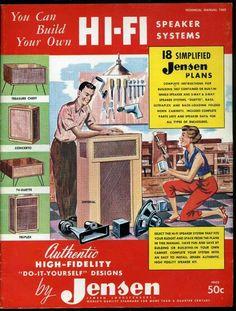 Vintage audio Jensen speakers DIY