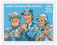 1989 25c Letter Carriers Scott 2420 Mint F/VF NH