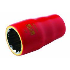 """Bahco 1000V 3/8"""" Safety Socket, 19MM"""