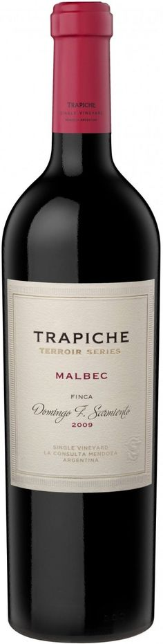 Malbec of deep and intense red-violet color, with aromas of red fruits, plums, black cherries and forest berries such as blackberries and blueberries. Malbec Wine, Bordeaux Wine, Red Fruit, Tequila, Red Wine, Alcoholic Drinks, Mendoza, Beer, Bottle