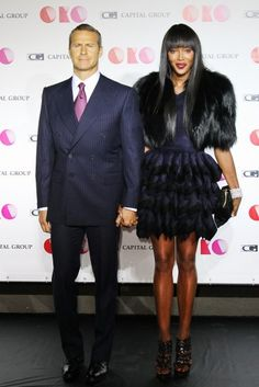 Perfection. Stunning. Want.Her.Style. Naomi Campbell at the 'OKO' project.