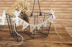 lace burlap advice wedding banner rustic shabby chic wishes banner by montanasnow