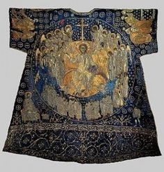 The Dalmatic (cloak) of Charlemagne - front