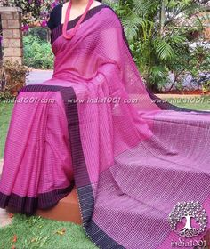 Beautiful Bengal cotton saree with Missing weave