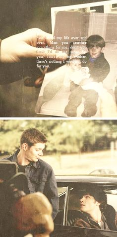Sam & Dean are the motherfucking otp <3