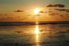 Sonnenuntergang // Sunset North Sea // Norden - Norddeich // Nordsee Deutschland