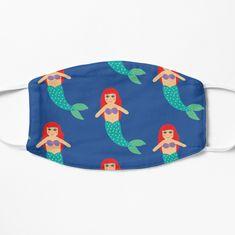 'Ariel' Mask by SajoReka Ariel, Chiffon Tops, Masks, V Neck T Shirt, Finding Yourself, Coin Purse, Classic T Shirts, My Arts, Art Prints