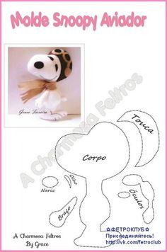 moldes para hacer perros de fieltro02