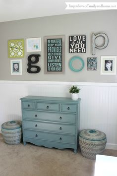 Playroom Gallery Wall 2-1