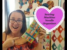 How to make a Sewing Machine Needle Organiser In case you Missed it... here is the Video for Sewing Machine Organiser  Pattern Available Here ▶ https://www.etsy.com/your/shops/DDsBagsAndMore/stats/listings/601474291 #ICUMI #sewing #quilting #organiser