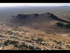 Zona Arqueológica de Trincheras, Sonora. México.