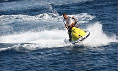 One-Hour Jet-Ski Rental with Two All-Day Chaise-Lounge Rentals from Miami BeachSports in Miami Beach | Groupon 89.00
