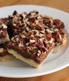 Who says pecan pie is just for Thanksgiving? With all-natural ingredients and no added sugar, this reinvented Paleo pecan pie recipe is a tasty treat all year round. This dessert's gooey filling, moist texture, and crumbly crust will satisfy anyone's sweet tooth. Photo: Lizzie Fuhr