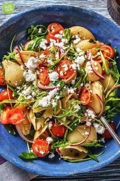 Fresh Pasta, Food Cravings, I Love Food, Italian Recipes, Feta, Veggies, Yummy Food, Healthy Recipes, Dinner