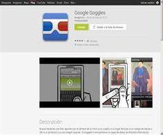 Biblioteca escolar Digital: Uso de Google Googles para RA