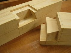 Rund vier Holzverbindungen   Holz und Design                              …