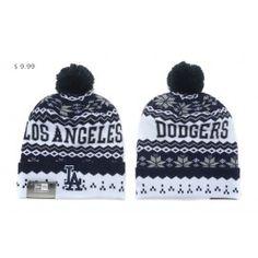 fd51a8f288f Wholesale MLB Knit Hats Los Angeles Dodgers Cheap New Era Beanies LADKH01