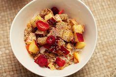 Riekes Müsli-Obst-Kreation zum Frühstück ist nicht nur was zum genießen, sondern auch fürs Auge!