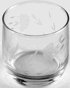 PRINCESS HOUSE CRYSTAL HERITAGE FLAT JUICE GLASSES 463