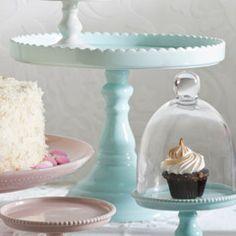 Rosanna Decor Bon Bon Hue Blue Tall Pedestal RI89833