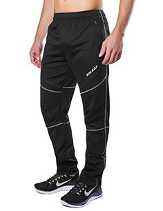 Baleaf Men s Windproof Cycling Fleece Thermal Multi Sports Active Winter  Pants Cycling Shorts fd7441378