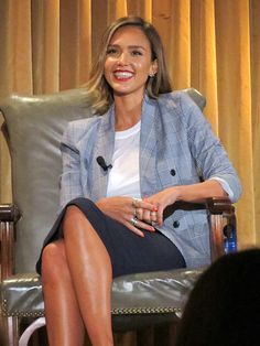 Star Tracks: Wednesday, April 22, 2015 | AN 'HONEST' WOMAN | Jessica Alba, who founded the Honest Company in 2011, shows off her business savvy (and those gorgeous gams) at a Q&A on starting your own company hosted by the Wall Street Journal at the Beverly Wilshire hotel in Beverly Hills on Tuesday.