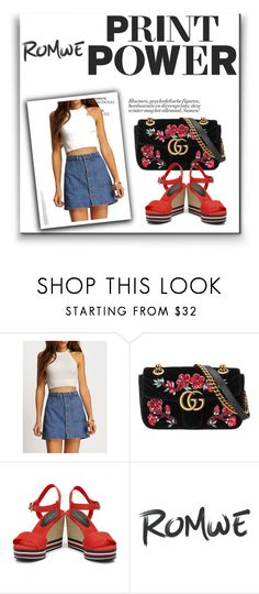 """Bez naslova #291"" by atinedz ❤ liked on Polyvore featuring Gucci"