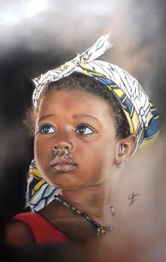 African Art Paintings, Art Van, Black And White Portraits, African American Art, Portrait Art, Art History, Art Drawings, Photo Sketch, Liberia