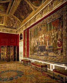 Queen´s antechamber or grand couvert salon, Palace of Versailles