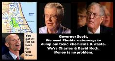 40 Corporate Polluters Exposed In Report – Citizens Demand Feds Investigate Koch-Scott-Bush Deal