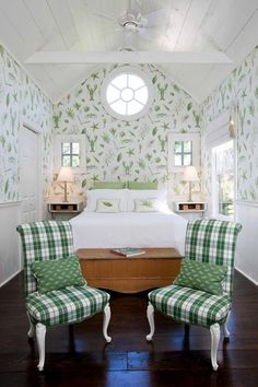 Love this little cottage bedroom