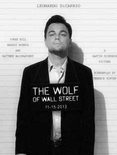 "Leonardo DiCaprio ""The Wolf of Wall Street"""