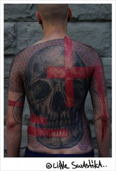 Skin is just a canvas. Little Swastika.
