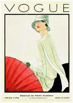 Vintage Vogue magazine covers - mylusciouslife.com - Vintage Vogue covers