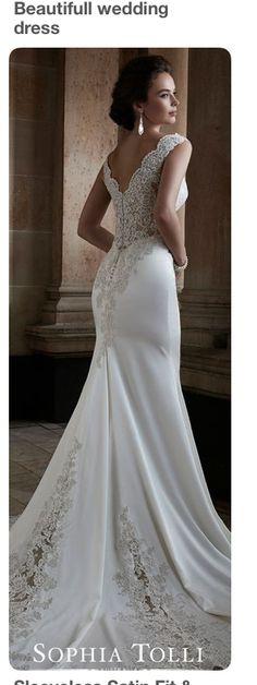 Featured Dress: Sophia Tolli; Wedding dress idea. | wedding dresses ...
