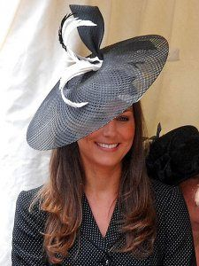 Kate Middleton in fascinators and hats