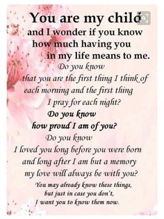 I love you more than life quotes i love you my daughter quotes and i My Children Quotes, Quotes For Kids, Family Quotes, Life Quotes, Wisdom Quotes, Prayer Quotes, Family Get Together Quotes, Child Quotes, Boy Quotes