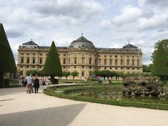 The Residenz (palace and gardens) - Wurzburg, Germany