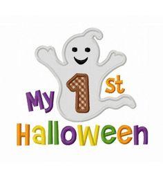 instant download my 1st halloween applique machine embroidery design