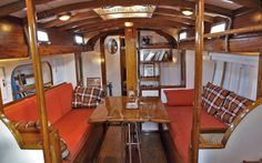 classic yachts interiors